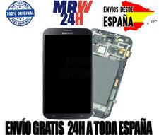 ▷ Pantalla Samsung Galaxy Mega 6.3  I9200 I9105 (con marco) Color Negro NUEVA ✔