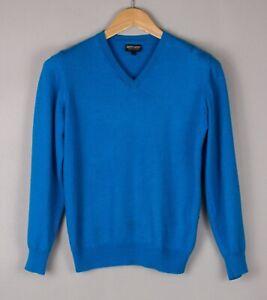 GALVIN GREEN Men Slim Fit Merino Wool Acrylic Casual Knit Sweater Size S BCZ469