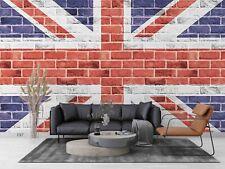 3D British Flag Graffiti Wallpaper Wall Murals Removable Wallpaper 36