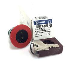 SETA Botón De Encendido Con Cerradura 184073 Ge Rojo P9MEC4RN95