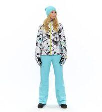 Spyder Womens Winner Gore-tex Ski Pants Tailored Fit Light Blue Size 2-R