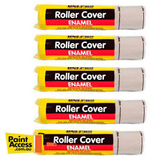 Paint Roller Cover Pack of 5 Uni-Pro Enamel Mohair, 270mm 5mm nap
