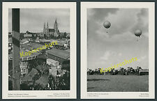 Oktoberfest Munich Folk Festival World Panoramic fixed Tents Galloping Race Tape Schlechtriem 1939