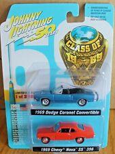 2019 JOHNNY LIGHTNING 2 Pack 1969 CHEVY NOVA SS 396 and 1969 DODGE CORONET