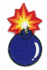 CHERRY BOMB BALL iron on/sew on Embroidered Patch Applique DIY (US Seller)