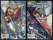 Amazing Spider-Man 51 & 52 Comic Lot feat. J. Scott Campbell & John Romita art