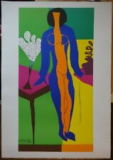 "Henri MATISSE : ""Zulma"" LITHOGRAPHIE SIGNEE EN COULEURS # RARE"