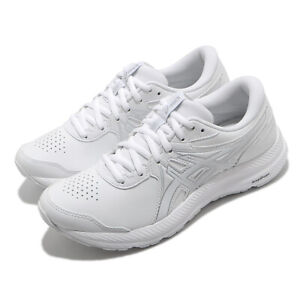 Asics Gel-Contend SL White Grey Women Running Shoes Sneaker Trainer 1132A057-100