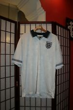 England 1990 home football jersey shirt L Reproduction (#22)