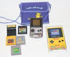 Nintendo GameBoy Color: Atomic purple +5 games and Case