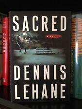 Dennis Lehane Signed Sacred 1st Ed. HC