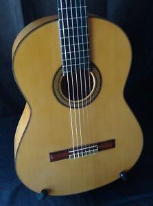 1971 M.G. Contreras Signed Cypress and Spruce Flamenco Guitar