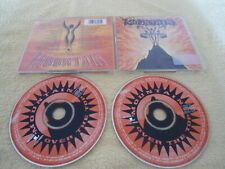 2 CD MOUNTAIN - OVER THE TOP Mississippi Queen - Leslie West COLUMBIA 4838 2