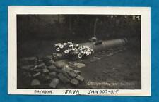 C1927 RP PC SACRED CANNON, BATAVIA, JAVA, INDONESIA