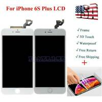 For iPhone 6s Plus A1634 LCD 3D Touch Screen Replacement with Button +Camera AA+