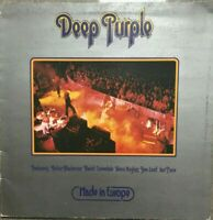 Deep Purple - Made in Europe,  12'' vinyl,  TPSA 7517, 1976 VG/EX Coverdale