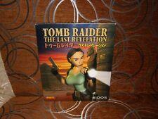 Tomb Raider: The Last Revelation - Japanese Big Box Edition PC