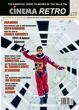 CINEMA RETRO #34 KUBRICK'S 2001, JAMES BOND, THREE MUSKETEERS, ROBERT VAUGHN