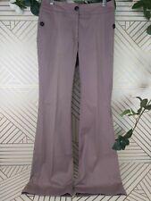 EUC Burberry Classic Dress Purple Flare Trousers Size 40