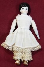 "Early Antique 5 1/2"" Miniature China Dollhouse Doll Bisque Hands Germany"