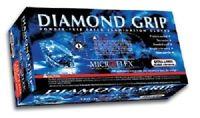 Microflex MF300XL Diamond Grip Powder-Free Latex Exam Gloves-Case of 10 Boxes