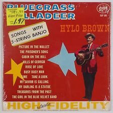 HYLO BROWN: Bluegrass Balladeer USA Orig STARDAY SLP 185 Super VINYL LP