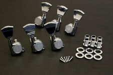 Free Shipping! Gotoh Machine Head Tuners SG381-04 CHROME L3/R3 Set Made in Japan