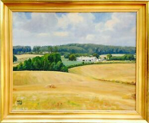Harald Madsen (1894-1966): HIGH SUMMER COUNTRY