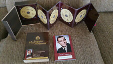 SEAN CONNERY BOX WOOD EDITION DELUXE 5 MOVIES DVD + BOOK ONE EBAY