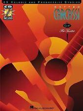 Matteo Carcassi: 25 Melodic And Progressive Studies, Guitar Instruction Book/CD
