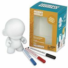 "MunnyWorld MINI MUNNY 4"" Munny DIY Blank Art Toy Kidrobot (Loot Crate Exclusive)"