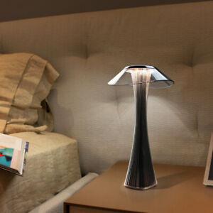 5V Creative Slim Waist LED Desk Lamp Touch Table Reading Light USB Rechargeable