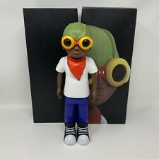 "Hebru Brantley Fly Boy Original Paint Matte Figure 13"" Signed Autographed"