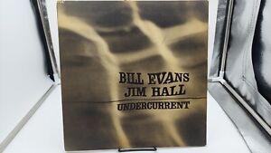 Bill Evans Jim Hall Undercurrent LP Record UAJ 14003 Mono VG+ Ultrasonic Clean*