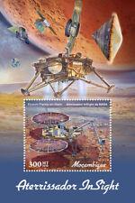 Mozambique 2019 Insight lander ,Mars , space  S201903