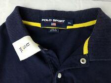 Polo Sport Ralph Lauren 90s Rugby Shirt USRL Mens Size XL Cotton Vintage
