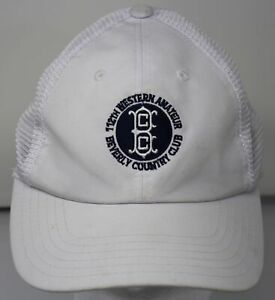 Beverly Country Club 112th Western Amateur Championship Golf Hat American Needle