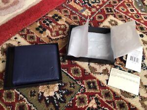 Polo Ralph Lauren Blue leather wallet