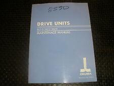 Okuma Drive Units Bl11-0/Vac11/Vac111 Maintenance Manual