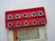 10 inserti SANDVIK Threading R166.0L-16MM01-175 S10T (INT RH 16MM01 175 1.75 mm