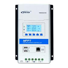 EPEVER MPPT Solar Controller 40A 30A 20A 10A, 12V/24V Auto Lead-acid or Lithium