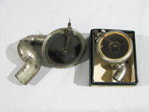 2 Antique PHONOGRAPH REPRODUCERS - BLISS - #3 BALANCE