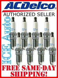 41-801 ACDelco (Set of 8) Platinum Spark Plugs GENUINE OEM 41801