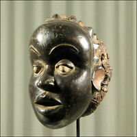 58905) Afrikanische Tikar Maske Kamerun Afrika KUNST