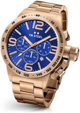 TW Steel Cb184 Mens Rose Gold 50mm Canteen Watch - 2 Years