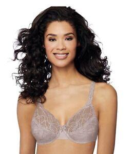 Womens Bali® Lace Desire® Unlined Full Figure Underwire Bra 6543 Size 36DD