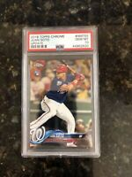 JUAN SOTO RC 2018 Topps Chrome Update HMT55 Non-Auto PSA 10 GEM MINT Nationals
