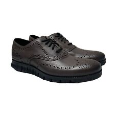 Mens Cole Haan Zerogrand Wingtip Oxford - Burnished Pavement, Sz 8 M [C30720]