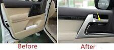 ABS Inner Door Handle Stripe Cover Trim 4pcs for Toyota Land Cruiser LC200 2016