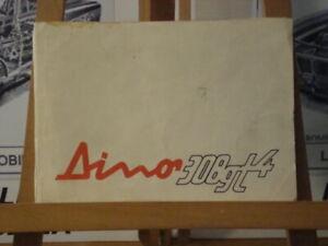 Ferrari Dino 308 GT4 Velour Interior Cloth & leather samples
